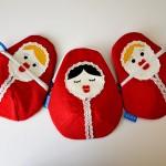 Tři sestry z východu- Larisa, Vasilisa a... Ivan